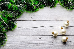 Tinsel Χριστουγέννων Στοκ Φωτογραφίες