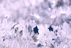Tinsel background Royalty Free Stock Photography