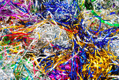 Tinsel background Royalty Free Stock Image