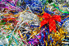 Tinsel background Royalty Free Stock Photo