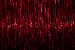 Tinsel background. Red sparkling abstract texture stock photos