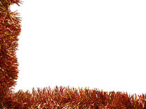 Tinsel borders collection Stock Image