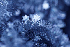 Tinsel. Christmas decoration. Stock Image