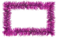 Tinsel frame Stock Photos