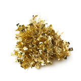 Tinsel garland pile isolated Stock Images