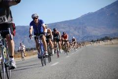 Tinsel Triathlon Bike rutt royaltyfria bilder