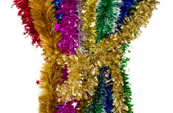 Tinsels of different colours. Stock Images