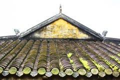 TINT, VIETNAM, 28 April, 2018: Keizerroyal palace van Nguyen-dynastie in Tint, Vietnam royalty-vrije stock fotografie