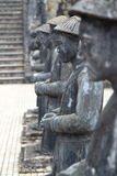 Tint, Vietnam: Koninklijk Graf stock afbeeldingen