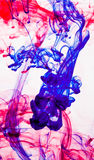 Tinta abstracta en agua Imagen de archivo libre de regalías