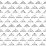 Tinta abstracta Pen Doodle Monochromatic Background del vector Foto de archivo libre de regalías