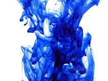 Tinta azul imagem de stock royalty free