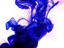 Tinta azul fotografia de stock royalty free