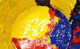 Tinta básica de los colores Imagen de archivo