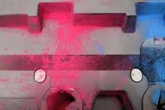 Tinta coloreada imagenes de archivo