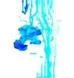 Tinta colorida en agua Fotos de archivo libres de regalías