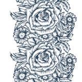 Tinta de desenho ilustração stock