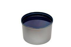 Tinta de impressão azul Imagem de Stock