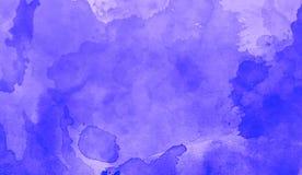 Tinta de la acuarela en fondo azul Diseñe para los fondos, los papeles pintados, las cubiertas y empaquetar libre illustration
