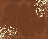 Tinta de la flor ilustración del vector