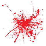 Tinta de la sangre Foto de archivo