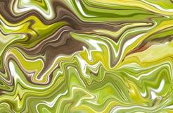Tinta de mármol colorida Modelo de mármol del multicolor de la mezcla de curvas imágenes de archivo libres de regalías