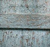 Tinta di legno del blu di struttura Fotografie Stock Libere da Diritti
