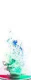 Tinta na água Imagem de Stock