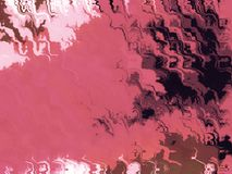Tinta na cor-de-rosa - ilustração Foto de Stock Royalty Free