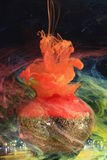 Tinta subacuática Imagen de archivo libre de regalías