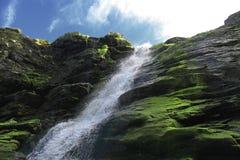 Tintagel瀑布 库存图片