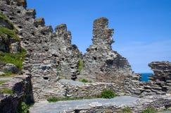 tintagel замока Стоковое Фото