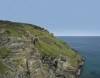Tintagel stock foto's
