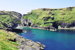 Tintagel bay Stock Photography