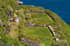 Tintagel Castle Stock Photo