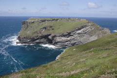 Tintagel castle Royalty Free Stock Photography