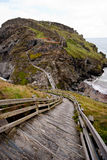 Tintagel Castle Royalty Free Stock Image