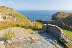 Tintagel Castle Cornwall England Royalty Free Stock Image