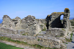 Tintagel Castle 2 Stock Image