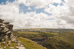 Tintagel Castle Royalty Free Stock Images