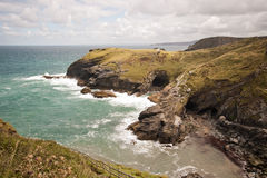 Tintagel Castle Stock Photos