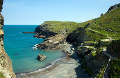 Tintagel Coastline Stock Photos