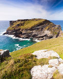 Tintagel Head Royalty Free Stock Photos