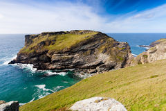 Tintagel Head Royalty Free Stock Images