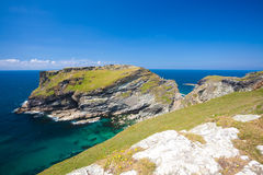 Tintagel Head Cornwall England Royalty Free Stock Image
