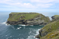 Tintagel Island Stock Photography