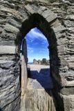 Tintagel kasztel Cornwall Anglia Obrazy Royalty Free