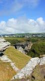 Tintagel ruins of King Arthur's castle Royalty Free Stock Photo