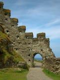 Tintagel slott Royaltyfria Foton