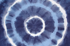 Tinte azul del lazo Imágenes de archivo libres de regalías